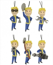 Fallout 76 Christmas Decorations (6 Pack)