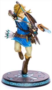 """The Legend of Zelda - Breath of the Wild 10"""" Link PVC Statue   Merchandise"""