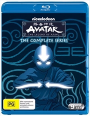 Avatar - The Last Airbender - Book 1-3 Complete Series | Blu-ray