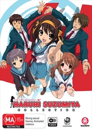 Melancholy Of Haruhi Suzumiya - Season 1-2 | Collection - + Movie, The