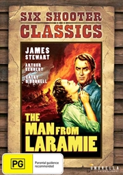 Man From Laramie Six Shooter Classics, The | DVD