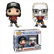Wayne's World - Wayne & Garth (Hockey) US Exclusive Pop! Vinyl 2-pack [RS]