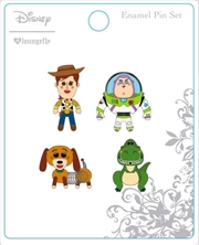 Toy Story - Enamel Pin 4-pack | Merchandise