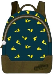 Pokemon - Pikachu Print Mini Backpack | Apparel