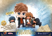 Fantastic Beasts 2: The Crimes of Grindelwald - Newt & Baby Niffler Cosbaby Set
