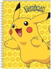 Pokemon Notebook Pikachu | Merchandise