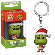 Dr Seuss - Grinch Christmas US Exclusive Pocket Pop! Keychain [RS]