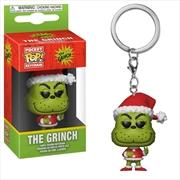 Dr Seuss - Grinch Christmas US Exclusive Pocket Pop! Keychain [RS] | Pop Vinyl