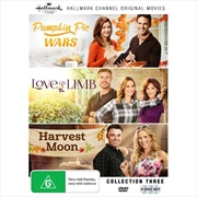 Hallmark Collection 3 - Pumpkin Pie Wars / Love on a Limb / Harvest Moon