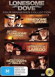 Lonesome Dove Collection - Four Mini-Series | DVD