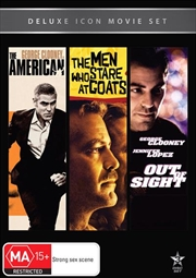 Movie Marathon - The American / The Men Who Stare at Goats / Out of Sight | DVD