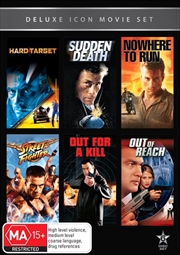 Movie Marathon - Hard Target / Sudden Death / Nowhere to Run / Street Fighter / Out for a Kill / Out