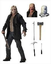 "Jason Ultimate 7"" Action Fig 