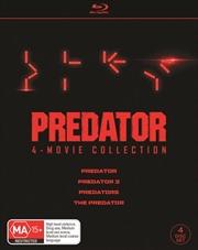 Predator / Predator 2 / Predators / The Predator Boxset | Blu-ray