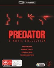 Predator / Predator 2 / Predators / The Predator | UHD - Boxset