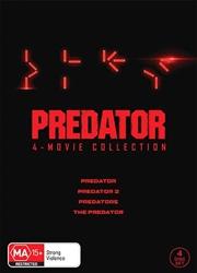 Predator / Predator 2 / Predators / The Predator | Boxset