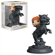 Harry Potter - Ron Riding Chess Knight Movie Moments Pop! Vinyl | Pop Vinyl