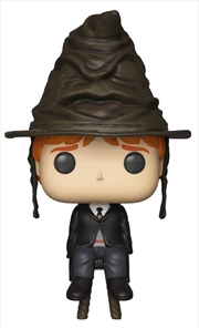 Harry Potter - Ron Weasley with Sorting Hat US Exclusive Pop! Vinyl [RS] | Pop Vinyl