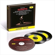 Verdi - Rigoletto - Limited Deluxe Edition | Blu-ray/CD