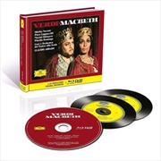 Verdi - Macbeth - Limited Deluxe Edition | Blu-ray/CD