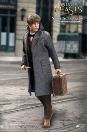Fantastic Beasts - Newt Scamander (Grey coat) 1:6 Scale Action Figure