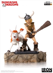 D&D (TV) - Bobby the Barbarian & Uni 1:10 Statue