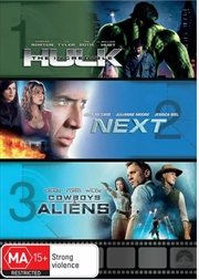 Incredible Hulk / Next / Cowboys And Aliens | DVD