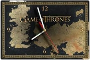 Game of Thrones Clock Map Glass | Accessories