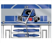 R2d2 Glass Clock