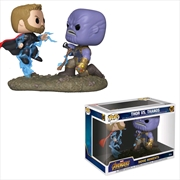 Avengers 3: Infinity War - Thor vs Thanos Movie Moment Pop! Vinyl | Pop Vinyl