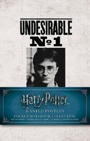 Harry Potter : Wanted Posters Pocket Journal Collection | Notebook