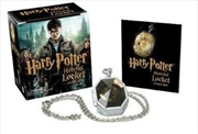 Harry Potter Locket Horcrux Kit and Sticker Book   Paperback Book