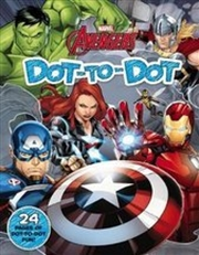 Marvel: Avengers Dot-to-Dot | Paperback Book