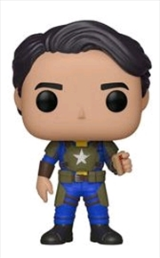 Fallout - Vault Dweller Male with Mentats US Exclusive Pop! Vinyl [RS] | Pop Vinyl