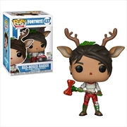 Fortnite - Red-Nosed Raider US Exclusive Pop! Vinyl [RS]