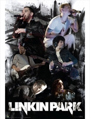 Linkin Park Collage poster