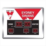 Sydney Swans Swans Scoreboard Clock | Accessories