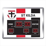 St Kilda Saints Scoreboard Clock | Accessories
