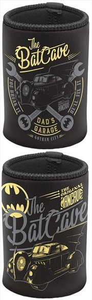 Batman Can Cooler Batcave   Accessories