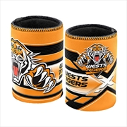 NRL Can Cooler Logo Wests Tigers | Accessories