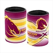 NRL Can Cooler Logo Brisbane Broncos | Accessories