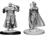 Dungeons & Dragons - Nolzur's Marvelous Unpainted Minis: Minsc & Delina