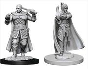 Dungeons & Dragons - Nolzur's Marvelous Unpainted Minis: Minsc & Delina | Games