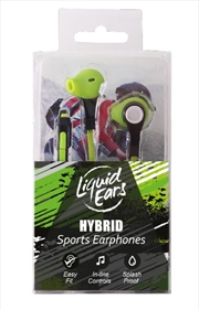Liquid Ears - Sports Hybrid Neon Green
