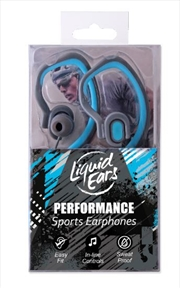 Liquid Ears - Hybrid Ear Hook Blue