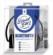 Liquid Ears - Bluetooth Lightweight Headphones Black