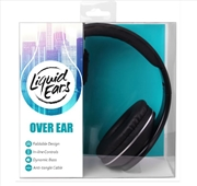 Liquid Ears - Classic Over Ear Headphones With Inline Control