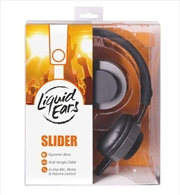 Liquid Ears - Classic On Ear Sliders Headphones With Inline Control