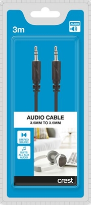 3.5mm To 3.5mm Audio Cable - 3M | Accessories