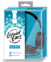 Liquid Ears - Classic Wired Lightweight Headphones